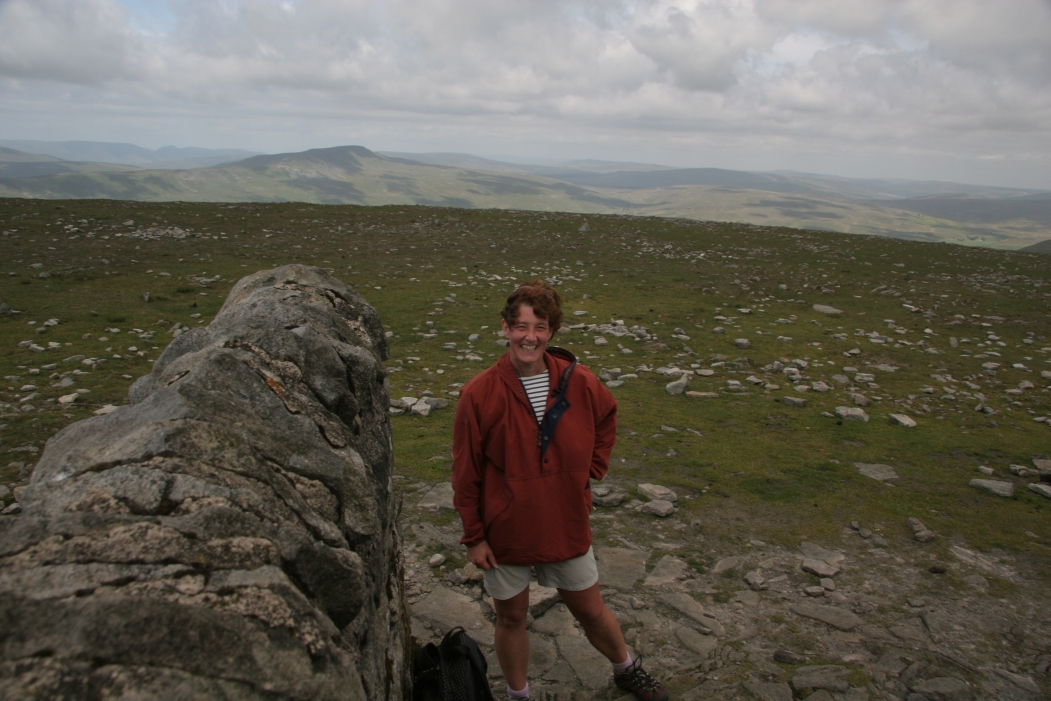 me on top of Ingleborough!