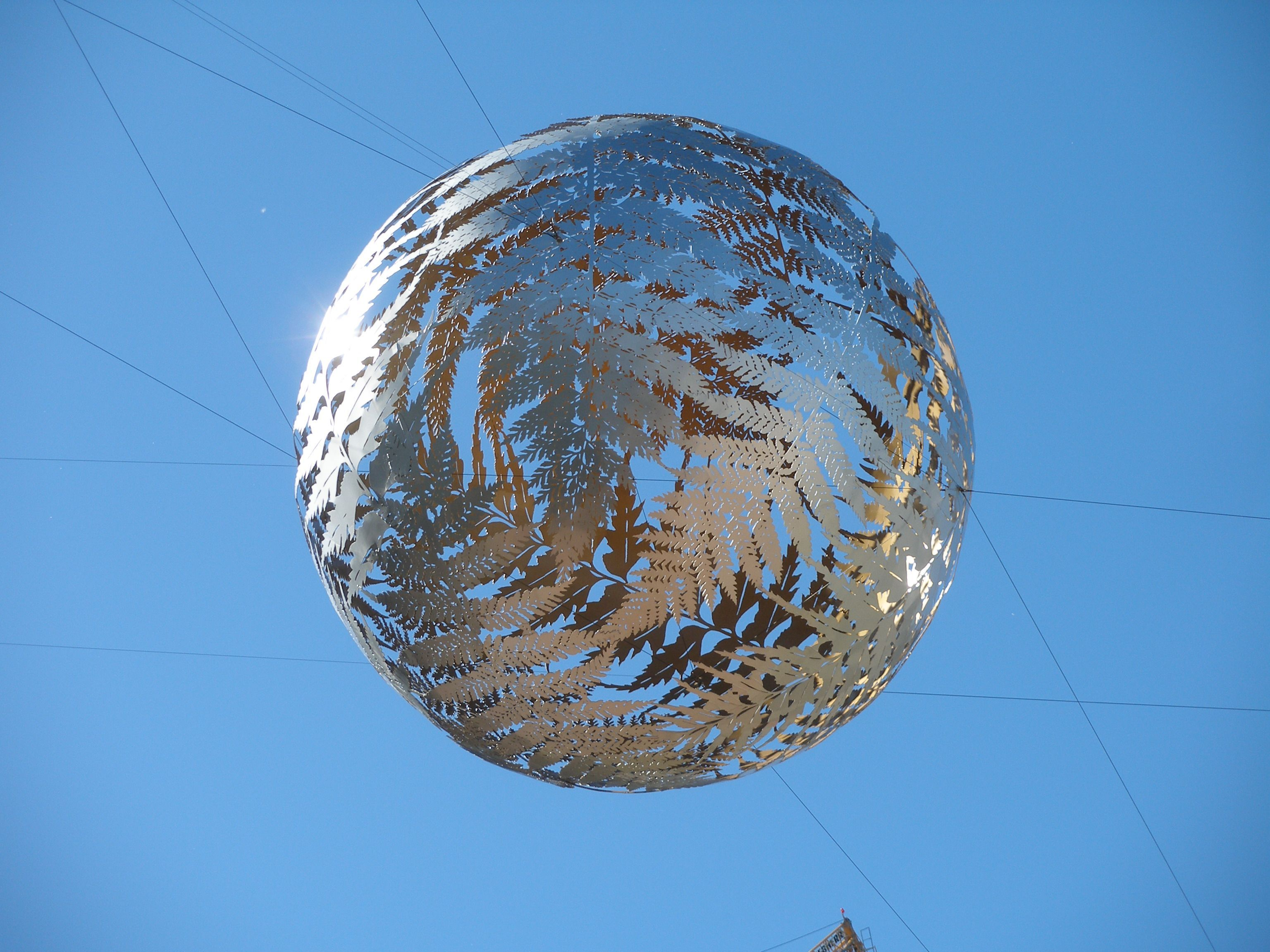 silver fern sphere, Wellington