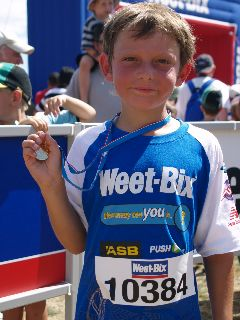 Aonghas weetbix tryathlon feb 2009